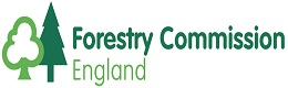 Forestry Commission England logo click for link to their webpage
